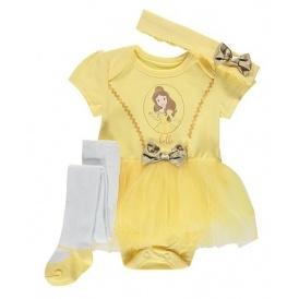 Disney baby 3 piece belle tutu set 8 asda george negle Image collections