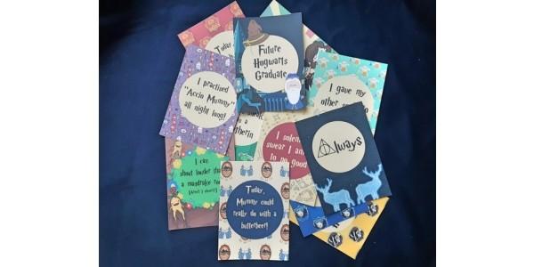 Harry Potter Baby Milestone Cards £12 @ Etsy Seller: FawnedOfYouDesigns