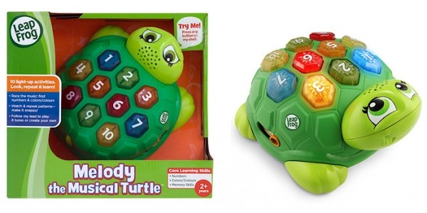 LeapFrog Melody the Musical Turtle £7.50 @ The Entertainer
