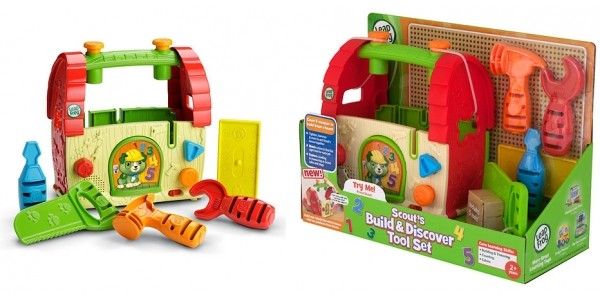 LeapFrog Scout's Build & Discover Tool Set £10 (was £20) @ The Entertainer