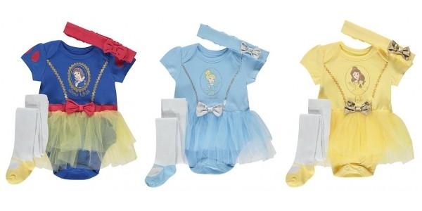 Disney Baby 3 Piece Tutu Outfits £8 @ Asda George