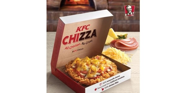 The KFC Chizza May Be Heading To The UK!