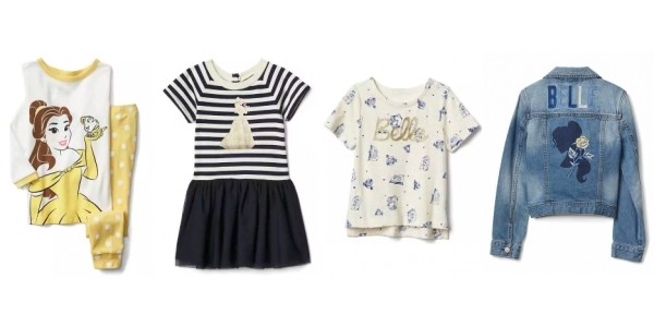 New Kids Disney Lines Added Including Beauty and The Beast @ Gap
