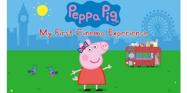 Book Your Tickets From Today for Peppa Pig My First Cinema Experience