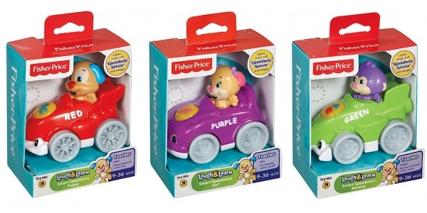 Fisher-Price Laugh & Learn Smart Speedsters £4.50 (was £9) @ The Entertainer