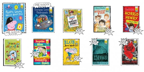 Pre-Order: World Book Day 2017 Books £1 @ Amazon / Tesco Direct