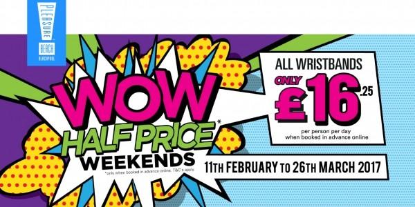 WOW Half Price Weekends at Blackpool Pleasure Beach