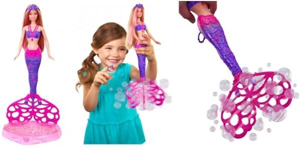 Barbie Bubble-Tastic Mermaid Doll £10.49 (was £20.99) @ Argos