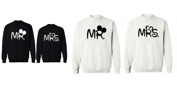 Mr & Mrs Disney Matching Sweatshirts £9.52 Delivered @ Ali Express