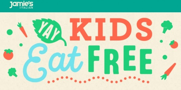 Kids Eat Free For Half Term @ Jamie's Italian