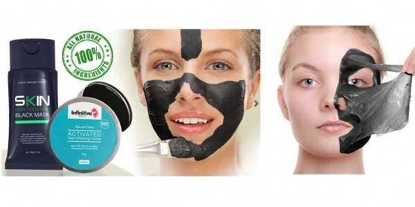 Black Peel Off Mask & Charcoal Toothpowder £8.99 Delivered @ Go Groopie
