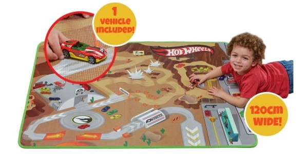Hot Wheels Play Mat With Car £8.99 (was £19.99) @ Argos