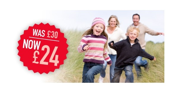 Half Term Offer: 20% Off Family & Friends Railcard (With Code)