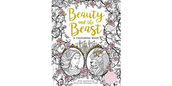 Beauty and the Beast Colouring Book Half Price With Free Delivery @ Tesco Direct / The Book Depository