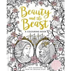 Beauty & the Beast Colouring Book £5