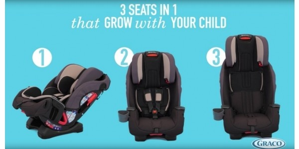 £85 Off Graco Milestone All-In-One (Group 0+/1/2/3) Car Seat @ Mothercare
