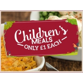 Kids Eat For £1 @ Toby Carvery