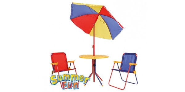 Summer Fun Children's Patio Set £19.99 @ Home Bargains