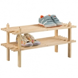 2 Shelf Shoe Storage Rack £3.99