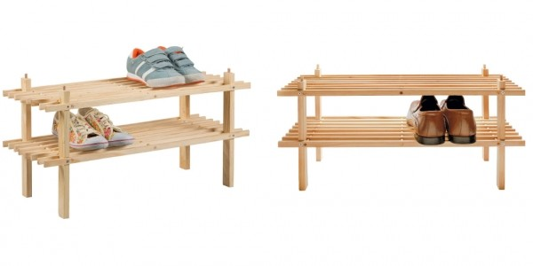 Simple Value 2 Shelf Shoe Storage Rack £4.99 @ Argos