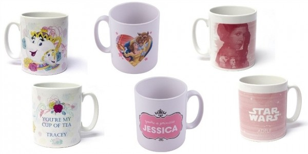 Disney Personalised Mugs £10 With Free Delivery @ Tesco Direct