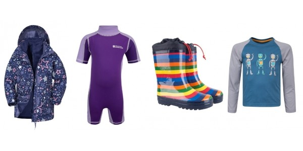 Kids Clothing Clearance Items From 99p + FREE Delivery @ Mountain Warehouse