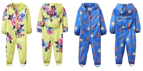 Joules Packaway Puddlesuits £8.50 (Was £28) @ Very