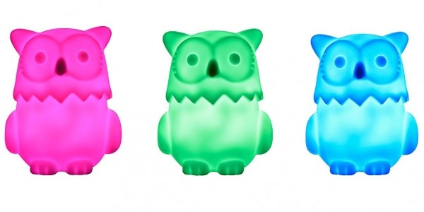 George Home Colour Changing Owl Night Light £2.50 @ Asda George (Expired)