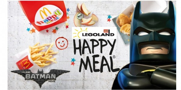 Half Price LEGOLAND Windsor Or Manchester Family Entry With McDonalds Happy Meal