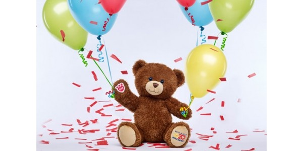 2 For £20 Furry Friends for 20th Birthday Celebrations @ Build-A-Bear
