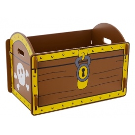 Exceptionnel Pirate Treasure Chest Storage Box Now £19