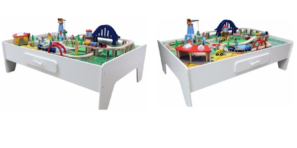 George Home Wooden Train Set And Table £50 @ Asda George