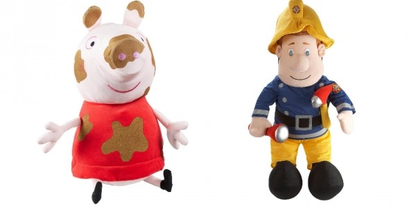 Fireman Sam / Peppa Pig Huge Plush Toys £12.99 @ Very