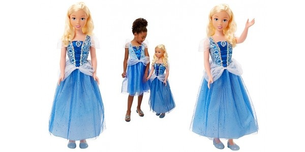Disney Princess My Size 38 Inches Cinderella Doll £35 (was £69.97) @ Asda George