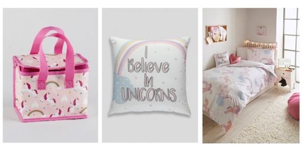 New Children's Unicorn Home Range Now In @ Matalan