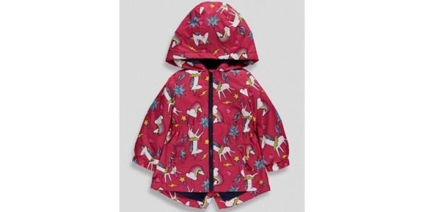 Girls Unicorn Print Mac £9-£10 @ Matalan
