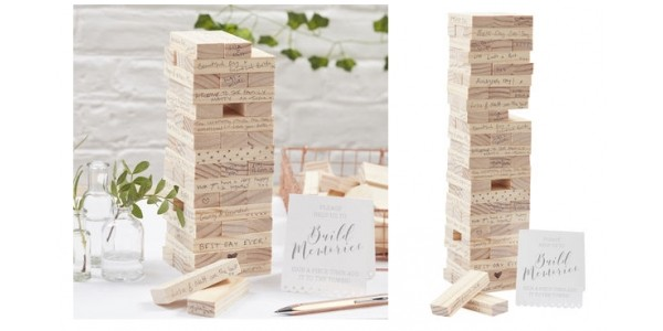 Ginger Ray Build A Memory Wedding Guest Book Alternative £17.99 @ Not On The High Street