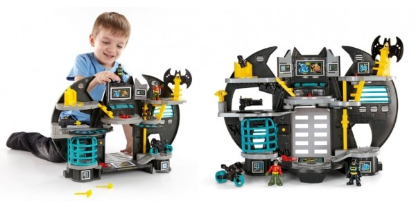 Imaginext DC Super Friends Batcave £22.49 With Free Delivery @ Smyths Toys