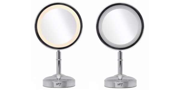 1/2 Price No7 Illuminated Make Up Mirror Now £24.99 @ Boots