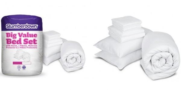 Slumberdown 13.5 Tog Bed in a Bag Set - Single £13.99 @ Argos