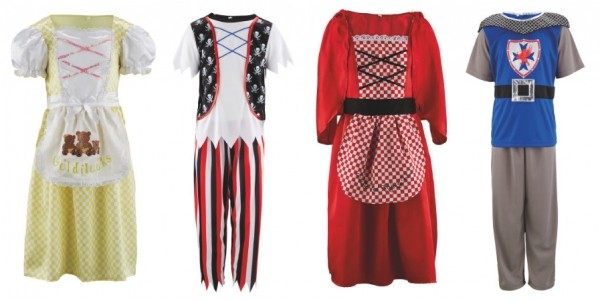 World Book Day Costumes £4.99 With FREE Delivery @ Aldi