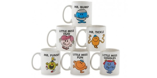 Mr Men & Little Miss Mugs £1.99 With Free Delivery @ Aldi