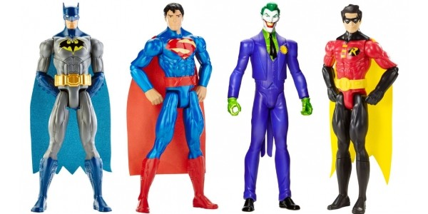Batman DC Comics 30cm 4 Figure Pack £29.99 With Free Delivery @ Smyths Toys