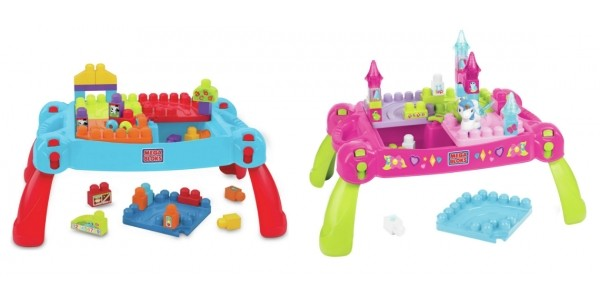 Half Price Mega Bloks First Builders Table @ Argos
