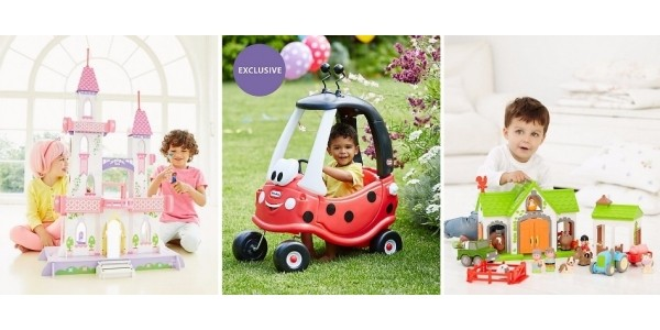 £10 Off When You Spend £50 Plus Free Home Delivery (Using Code) @ Early Learning Centre