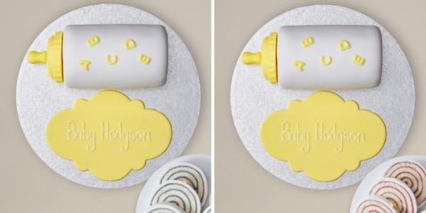 Secret Centre Baby Gender Reveal Cake £30 @ Marks And Spencer
