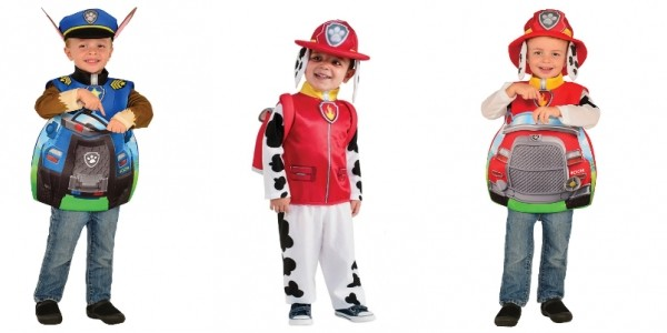 Paw Patrol Costumes From £9.99 @ Amazon
