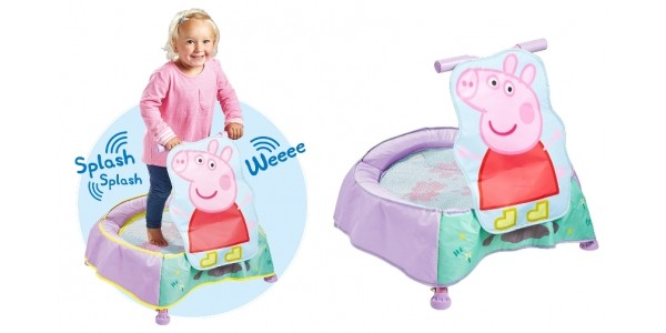 Peppa Pig Trampoline With Sounds £39.99 @ Very