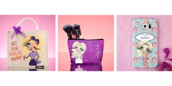 Up To 1/2 Price ClaireaBella Personalised Mother's Day Gifts @ Toxic Fox