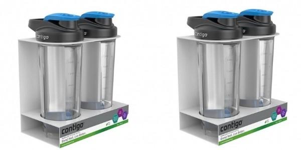 Contigo Sports & Shake Bottle Set £5 @ Tesco Direct